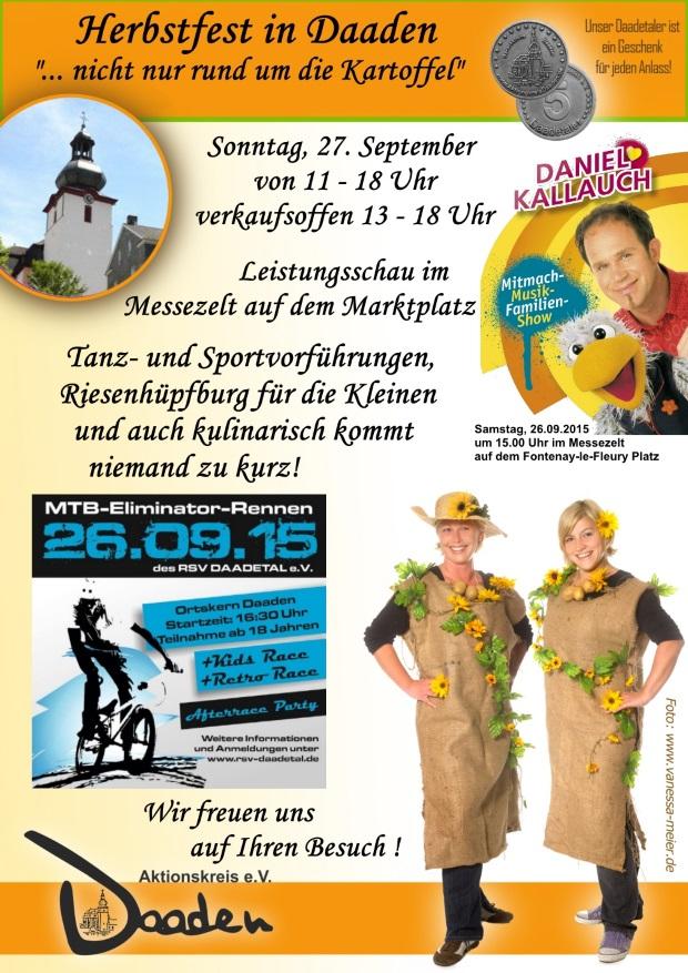 Plakat Herbstfest