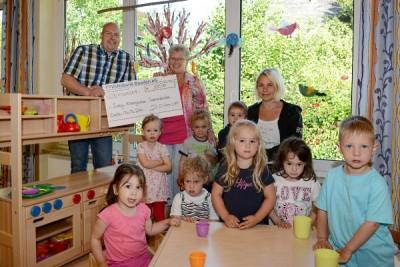 Spende Kindergarten Sonnenstrahl 2014