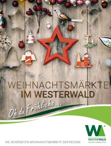 Flyer Weihnachten im Westerwald 2016